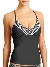 New Athleta  Tankini Top Swim Surf Paddle, 34 B/C, black,