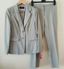 South Hose Jacke 2 Piece Suit Set Creme/Beige Arbeit Smart Büro Größe 10/12
