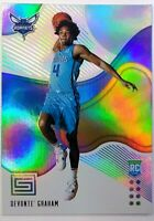 2018-19 Panini Status Devonte Graham Rookie RC #183, Hornets, All-Rookie
