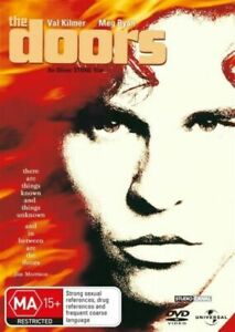 The Doors (DVD, 2011, R2, 4) Used Good Condition