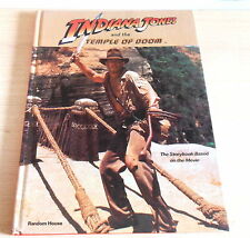 Indiana Jones & the Temple of Doom Movie The Story Book HC Hardcover Book (1984)