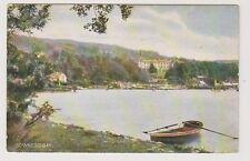 Cumbria postcard - Bowness Bay