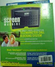 Spectrum Research Screen Machine Telemarketer Call Blocking System NEW in BOX