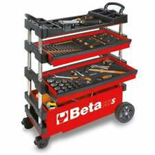 Beta Tools Beta C27S Folding Tool Trolley Red 027000203