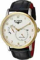 Elysee Priamos 77016 Made in Germany Men's Automatic Dress Watch Gold Tone NEW