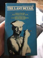THE LAST DETAIL by Darryl Ponicsan Signet VF- Paperback Jack Nicholson Cover