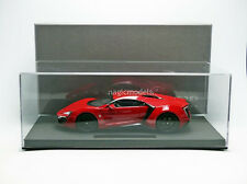 TOP MARQUES 2012 Lykan Hypersport Red with Glass Display 1/18 Scale LE of 250