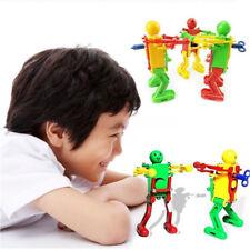Real Ritzy Children Plastic Clockwork Spring Wind Up Dancing Robot Toys Gift