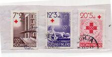 Finlandia Cruz Roja Serie del año 1951 (DK-736)