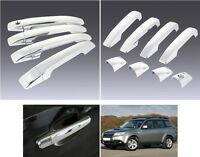 For Subaru Forester SH 2009-2012 Side Exterior Door Handle Cover Trims 8pcs