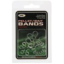 24 Clear Bait Pellet Bands on Blister