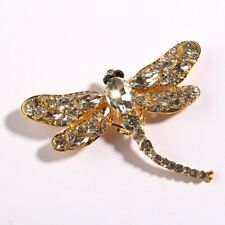 5PCS Dragonfly Brooches for Women Dress Scarf Brooch Pins Jewelry Accessories