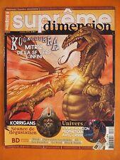 Suprême dimension N° 8 du 10/2006- Kookaburra Mitric de la SF vers l'infini