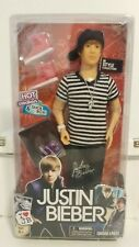Justin Bieber Doll JB Style Collection with Hot Sneakers & Shoe Box 2010 NIP
