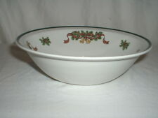 """Johnson Brothers Victorian Christmas 8 1/4"""" Serving Bowl"""