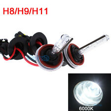 HID 2x Bolt AC Bulb Set Xenon H8 H9 H11 6000K Diamond White Headlight Light CL