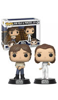 Pop Star Wars 3.75 Inch Figure Star Wars - Han Solo & Princess Leia 2-Pack