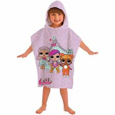 LOL SURPRISE HOODED PONCHO TOWEL NEW