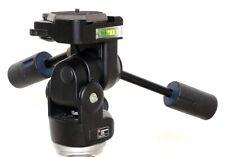 Manfrotto 229 heavy duty professional 3-way pan/tilt tripod head