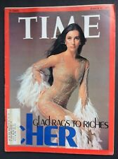Time Magazine Cher Gladrags to Riches  March 17 1975