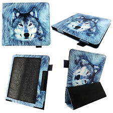 TABLET CASE FOR KINDLE OASIS 10TH GEN 2019 7 INCH Pu LEATHER SLEEVE COVER WOLF
