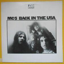 MC5 Back In The USA Garage Pre Punk Rock&Roll Velvet Underground Stooges