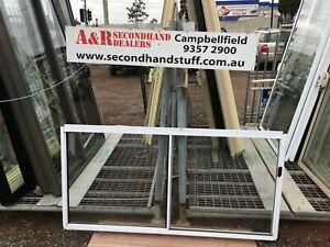 NEW Aluminium SLIDING WINDOWS 900h x 1800w (Approx Size) 5 COLOURS