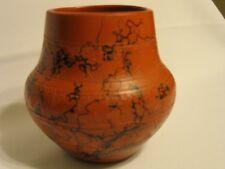 Horse Hair Pottery Vase Handmade