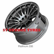 4X 18 X 9.75 NEW XXR 550 PLATINUM WHEELS XXR550 RIMS CONCAVE ORIGINAL XXR ET19