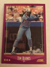 1988 Score #3 - Tim Raines - Montreal Expos