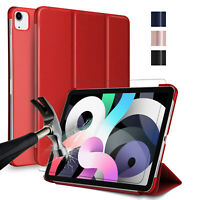 For iPad Air (2020) 10.9'',4th Generation Case With Stand Cover,Screen Protector