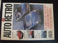 ** Auto Rétro n°115 Alpine A 106 / Simca Aronde / Ford Mustang option Greder
