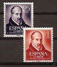 España Spain Edifil # 1369/1370 ** MNH Set Luis de Gongora