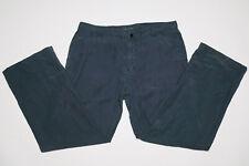 elie tahari Mens Blue Flat Front Linen Pant 38