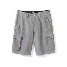 Men's Boy's Oakley Wheelie Cargo Walk Shorts Polyester Crystal Grey Size 28