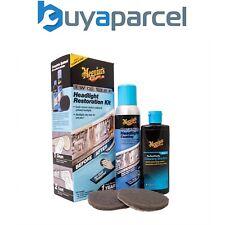 Meguiars Two Step Headlight Restoration Kit Clarity Restorer UV Protection G2970