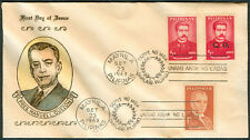 1963 Philippines PRES. MANUEL L. QUEZON First Day Cover - A