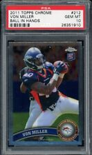 2011 Topps Chrome Football #212 Von Miller PSA 10