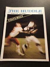 1970 The Huddle BALTIMORE COLTS vs BUFFALO BILLS Johnny UNITAS Earl MORRALL