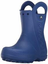 Crocs Kids' Handle It Rain Boot, Cerulean Blue,  Size Toddler 7.0