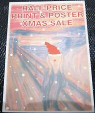 Advertising Prints & Posters Edvard Munch Scream - unposted