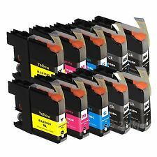 10 Pack LC103 XL HY Ink Set For Brother LC103 MFC-J4310DW MFC-J4410DW with Chip
