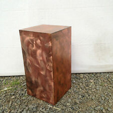 Pedestal furniture modern metal sculpture metal art indoor decor