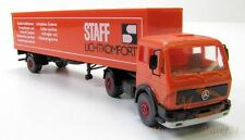 Wiking CAMION MERCEDES 1619 S kofferauflieger staff luce COMFORT scale 1:87