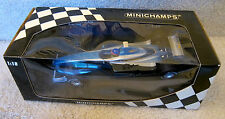 1999 TEST CAR F1 Formula1 JACQUES VILLENEUVE AUTOGRAPHED  BAR ONE  MINICHAMPS 2