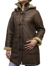 Cappotti e giacche da donna casual marrone con doppiopetto