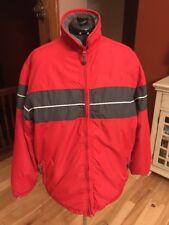 HOLLISTER Men's All Weather Winter Coat Ski Jacket Red Size Large L