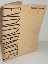 Expériences, par Camille Bryen, avec envoi - Presses de l'Equerre, 1932