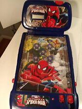 2009 Marvel Ultimate Spiderman mini tabletop pinball machine