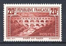 "FRANCE STAMP TIMBRE N° 262 A "" PONT DU GARD CHAUDRON TYPE I "" NEUF xx LUXE P653"
